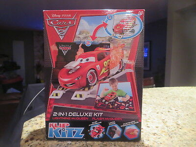 DISNEY PIXAR CARS ;LIGHTNING McQueen  model KIT KLIP KITZ 2N1 KIT SEALED