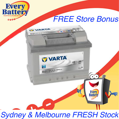 Varta Car Battery D21 'Silver'