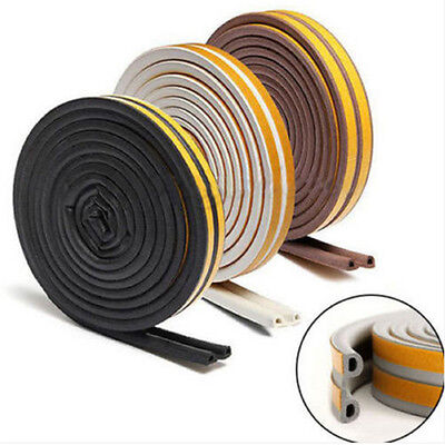 5M Self Adhesive Seal Strip Draught Window Door Useful Avoidance Rubber