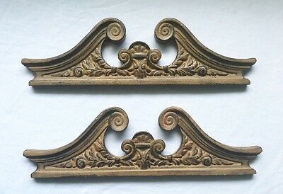 Set Of Two Architectural Scroll Work Pieces • CAD $15.12