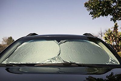Easy To Use & Store Car Sun Shade- Protects Car From Sun Damage & Keeps Car Cool