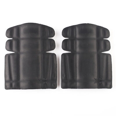 2x Black Knee Protectors Pads Fits All Port West Garments Kneeling Protect Work
