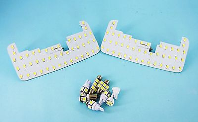 Toyota Landcruiser Prado 150 Series GXL LED Interior Light Kit Exact Fit Panels