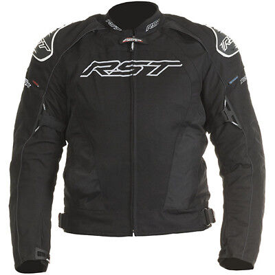 RST Tractech Evo 2 Waterproof Textile Sports Motorcycle Jacket - Black