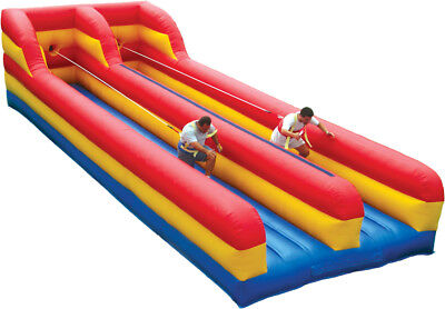 Horizontal Bungee Run - Two Lane Commercial Inflatable Bungee - 3 Yr Warranty!