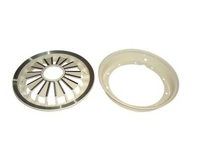 3 Pieces - 10 Inch Wheel Rim Cream For Vespa Rally/Sprint Scooters