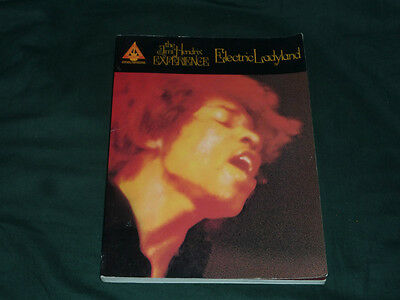 The Jimi Hendrix Electric Ladyland Music and Tab Book