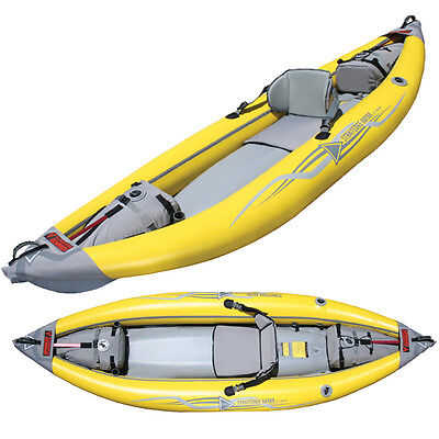 Advanced Elements StraitEdge AE1006 Inflatable Kayak - Self Bailing Whitewater!