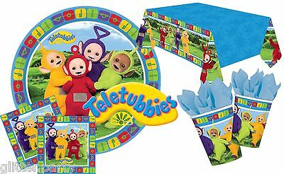 Teletubbies Party Complete Tableware Kits Tinky Winky Dipsy Lala Po Plates Cups