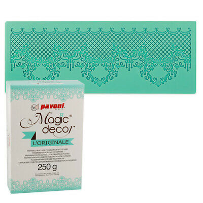 ++ Magic Decor Matte Spitzendecke Oriental + Magic Decor Pulver 250g ++