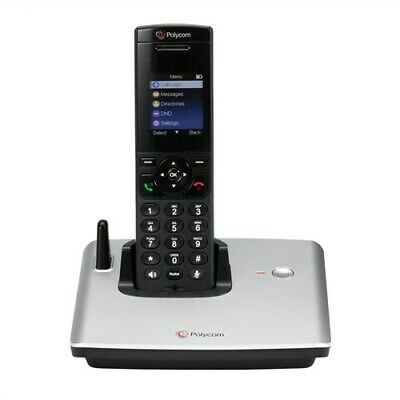 Polycom VVX D60 Wireless Handset w/ Session Description Protocol (SDP)