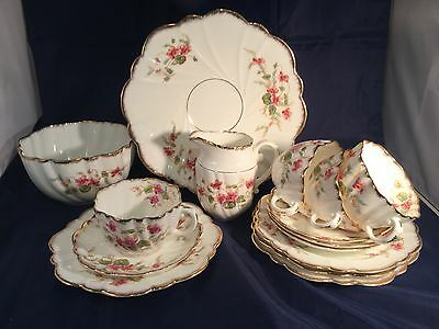 Choice of Blyth Porcelain Royal Diamond Vintage China Pink Violets 100 years old