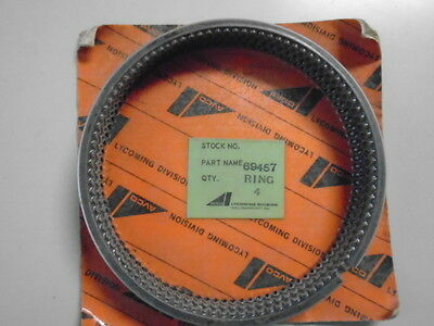 Lycoming Piston Ring Set Of 4 Each  P/n 69457    Nos Package