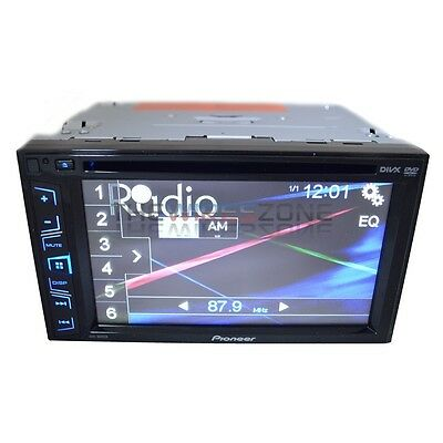 "Pioneer AVH-180DVD Double DIN 6.2"" CD DVD MP3 USB/AUX iPhone Car Stereo Receiver"