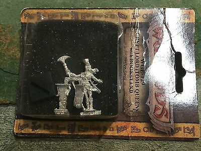 Wargods of Egyptus Crypt Lord Tomb Queen With book stand