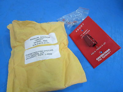 Chemetron Fire Systems ABORT  Toggle Switch Model ABS - NEW