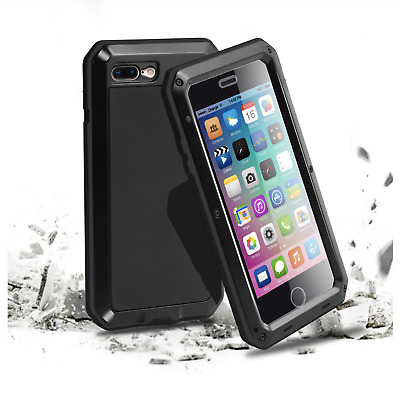 For Samsung Galaxy S4 Shockproof Aluminum METAL Armour Gorilla Hard Case Cover