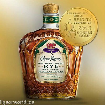 Crown Royal Northern Harvest Rye - The Best Whisky of the Year