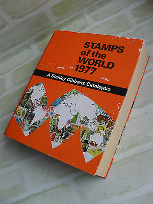 Stamps Of The World 1977 - Stanley Gibbons Catalogue- Hardcover Book