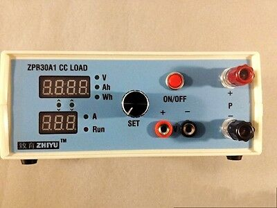 Constant Current Electronic Load 9.99A 60W 30V Battery Capacity Tester + CASE