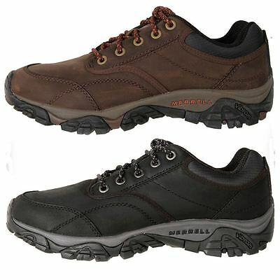 New Merrell Men's Leather Waterproof Hiking Bush Walking Shoe Moab Travel Cheap