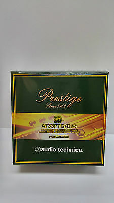 AUDIO TECHNICA AT33PTG/II 0.3mV Low Output Dual MC Cartridge, Made in Japan NEW