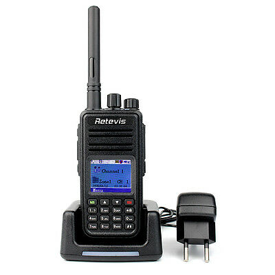 DE Local  DMR Walkie Talkie Retevis RT3 UHF 400-480MHz 5W 1000 5W PMR-Funkgeräte