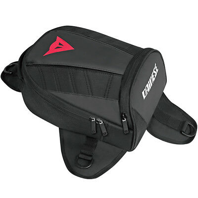 Dainese D-Tanker Motorcycle Mini Tank Bag - Stealth Black