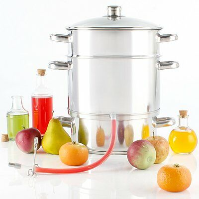 Torrex Induction Steam Juicer made of stainless steel Ø26/15L Small kitchen