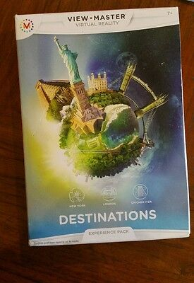 Viewmaster reels New York London Chichen Itza Experience pack BNIB free post D4