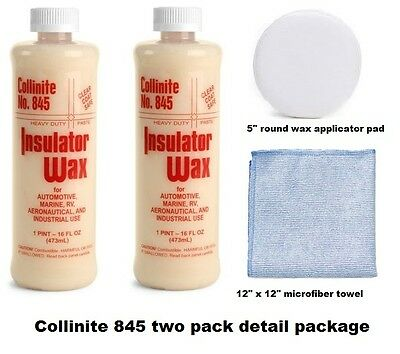 Collinite 845 Two Pack, Detail Package FREE SHIPPING