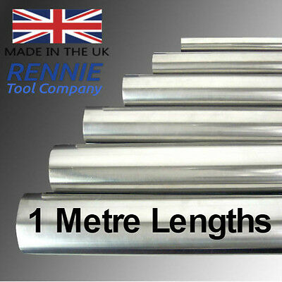 Metric Silver Steel Diameter Bar.1 Metre Lengths (1000mm Long).Ground Round Rod