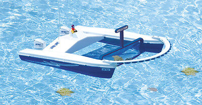 Jet Net - Remote Controlled Boat Leaf Skimmer for Swimming Pool