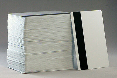 50 Blank Inkjet PVC Cards with Hico Magnetic Stripe