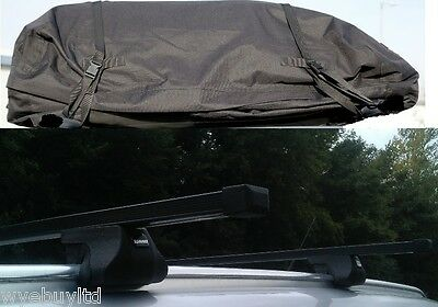 Roof bars & large roof bag for a 5 door Vauxhall Zafira B year 2005 to 2011 rack