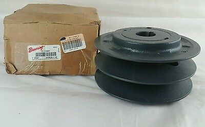 "2Vp62 7810-4818 1-1/8""-Bore 5.95"" 2-Groove Variable Pitch Sheave Pulley, (S1)"