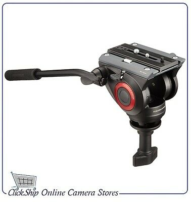 Manfrotto MVH500A Pro Fluid Video Head with 60mm Half Ball Mfr # MVH500A