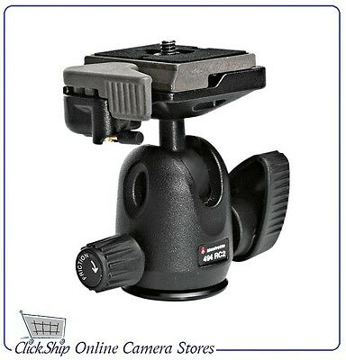 Manfrotto 494RC2 - 494 Mini Ball Head with RC2 Quick Release Mfr # 494RC2