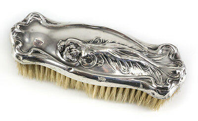 Sterling Silver Art Nouveau Vanity Clothes Brush, c1900, Webster Company?