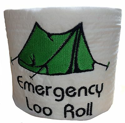 Embroidered Novelty Camping Festival Toilet Paper