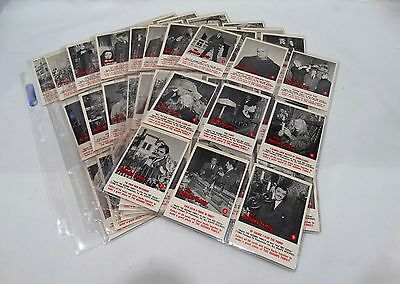 THE ADDAMS FAMILY 1964 DONRUSS  Complete Gum Card Set (66/66) in Great Condition