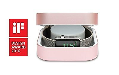 Watchcase Power Bank , Apple Smart Watch Charging Holder Micro-USB Cable Adapter