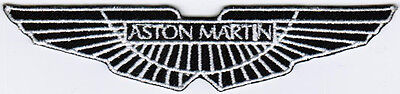 Aston Martin Motor Company Car Racing Badge Iron On Embroidered Patch