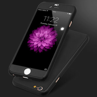 Luxury Ultrathin SHOCKPROOF Hybrid 360° Protective Case Cover For Apple iPhone