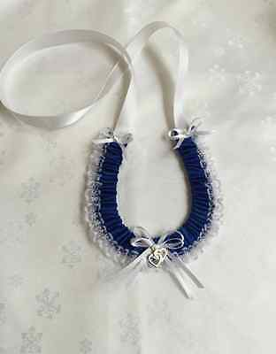 Wedding Horseshoe - Royal Blue
