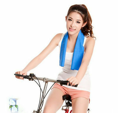 Ice Frío Enduring Footing Gimnasio frío Pad Instant Cooling Toalla Deportivo US