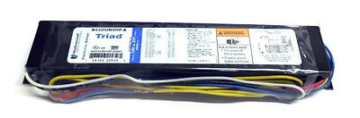 NEW UNIVERSAL TRIAD ELECTRONIC BALLAST B432IUNVHP-A, For 3 OR 4 F32 T8 LAMPS