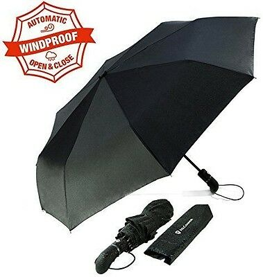 McConnor Umbrellas - Automatic Open Close Folding Rain Umbrella - Unbreakable...