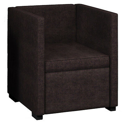 "VCM Sessel Sofa Clubsessel Loungesessel Cocktailsessel ""Rulas Stoff"" Farbwahl"