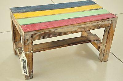 Gorgeous little Kids Handcrafted Activity Table Distressed Coloured design  NEW